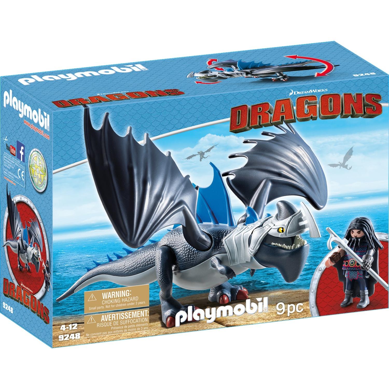 Drago avec dragon de combat, Jouets de construction