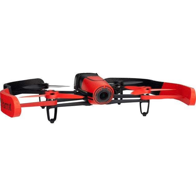 Bebop Drone 14MP 1200mAh Noir, Rouge caméra drone