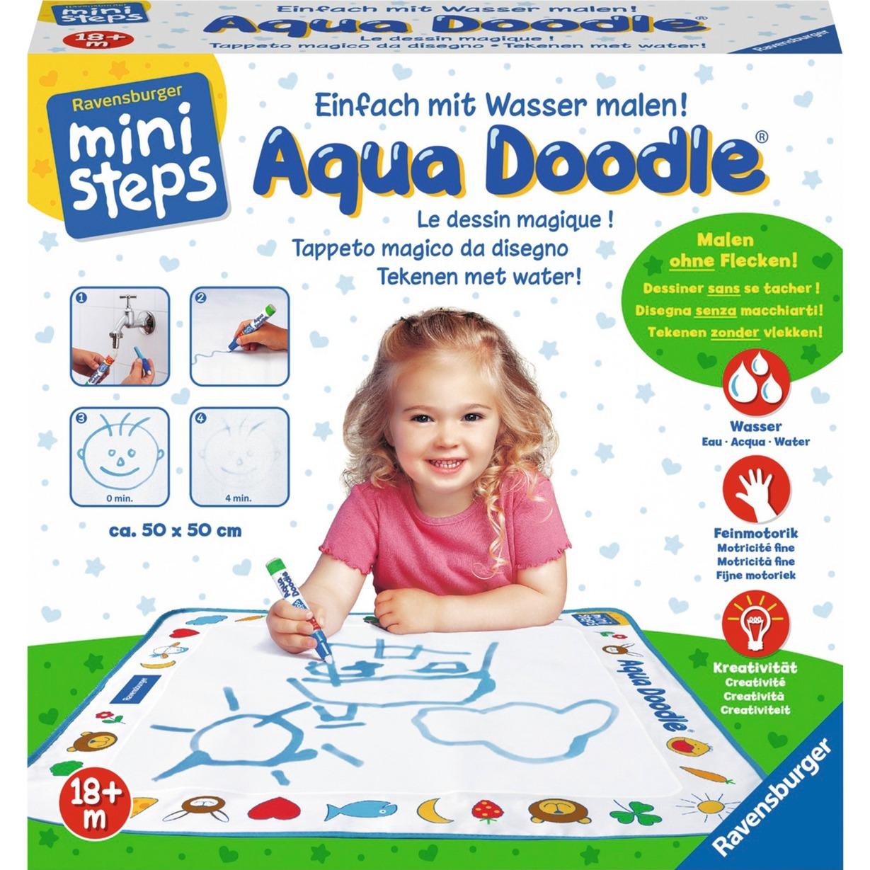ministeps: Aqua Doodle, Peinture