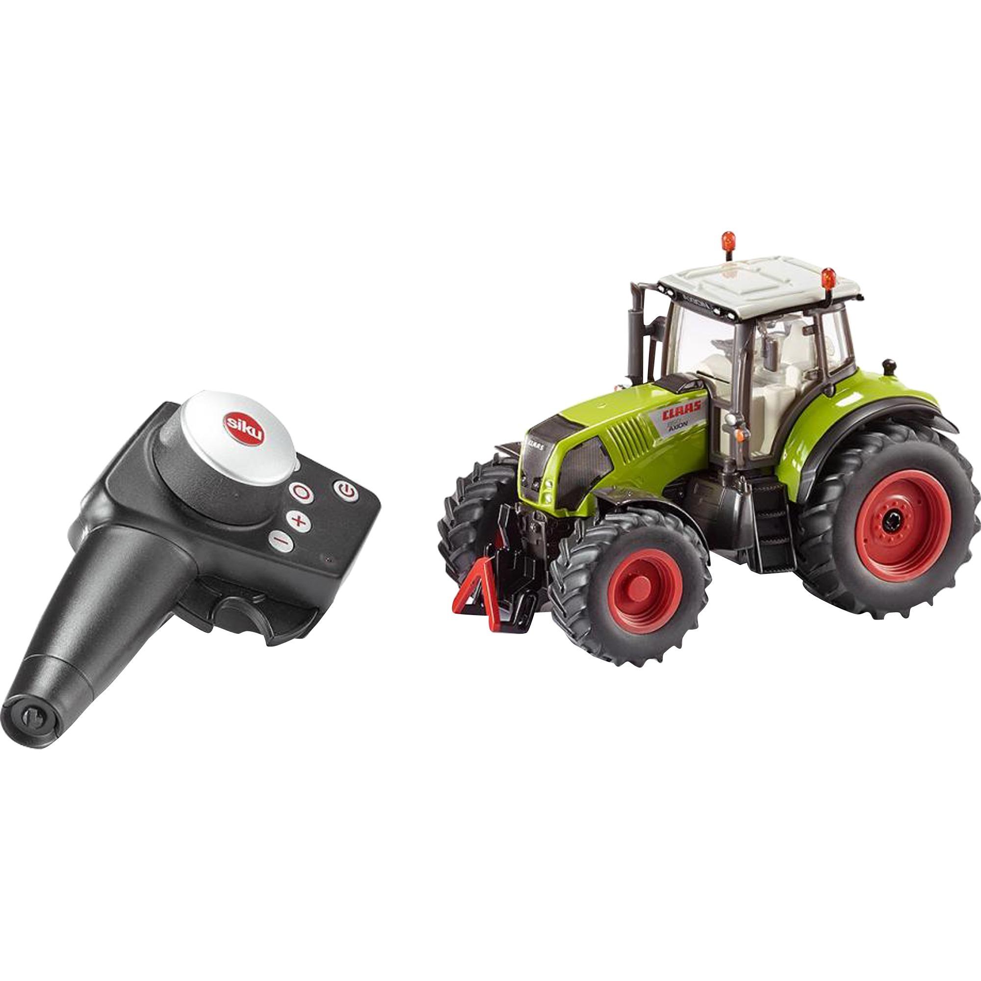 Radio Commande - Camion - Coffret Tracteur Claas Axion 850 Avec Télécommande Infrarouge, RC