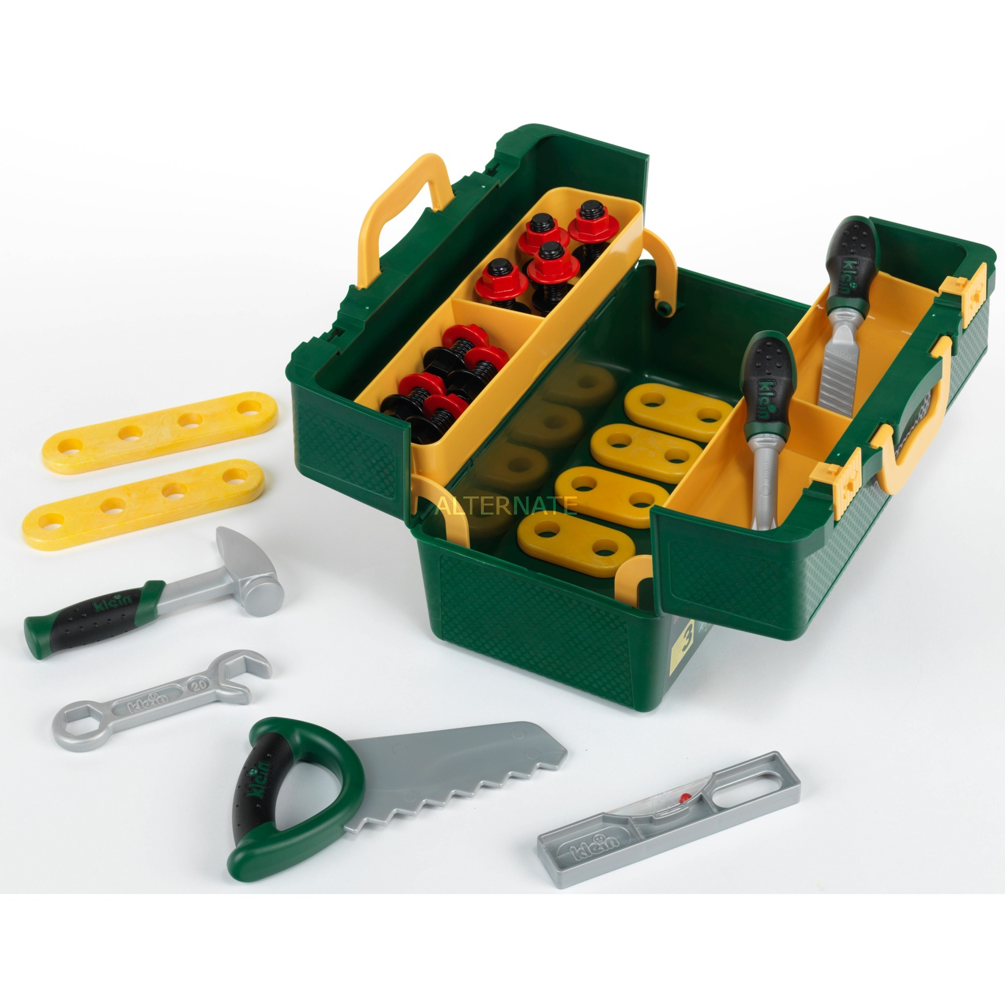 Jeu d'imitation - Caisse à outils Bosch Home-Worker avec outils Profiline, Outils pour enfants
