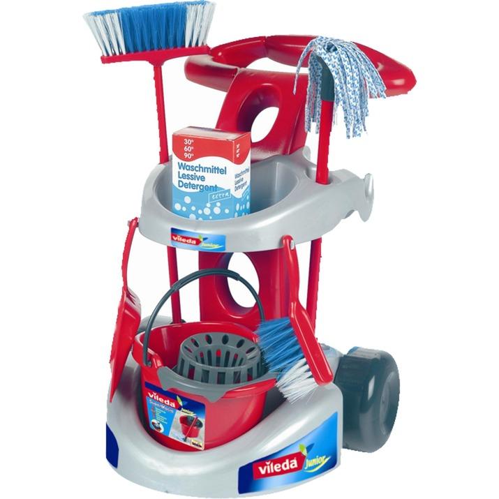Jeu d'imitation - Chariot de ménage Vileda, Appareil ménager pour enfants