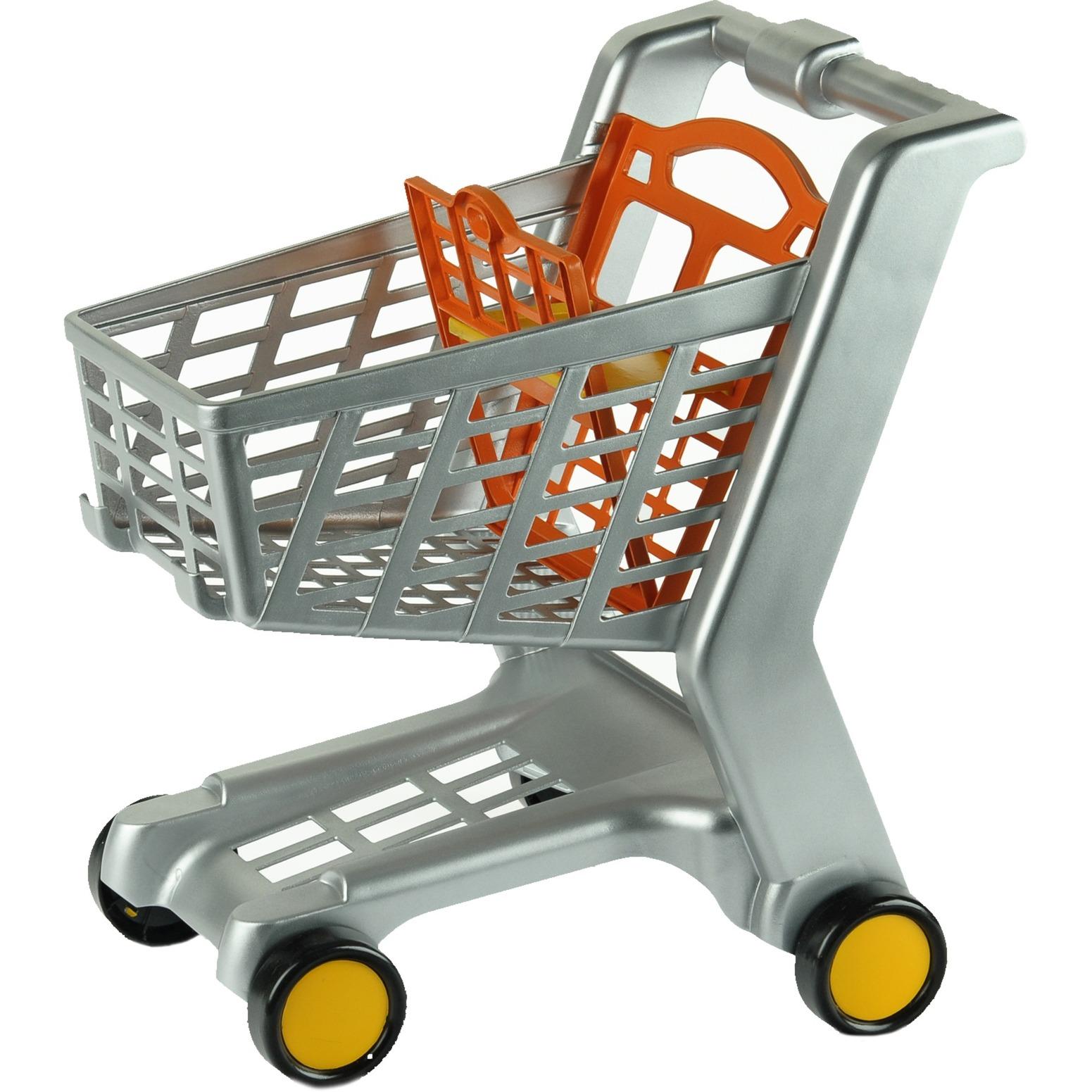 Jeu d'imitation - Chariot de supermarché, plastique, Epicerie d'enfant