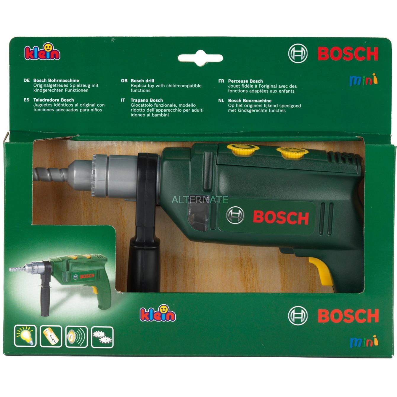 Jeu d'imitation - Perceuse Bosch avec fonctions réalistes, Outils pour enfants