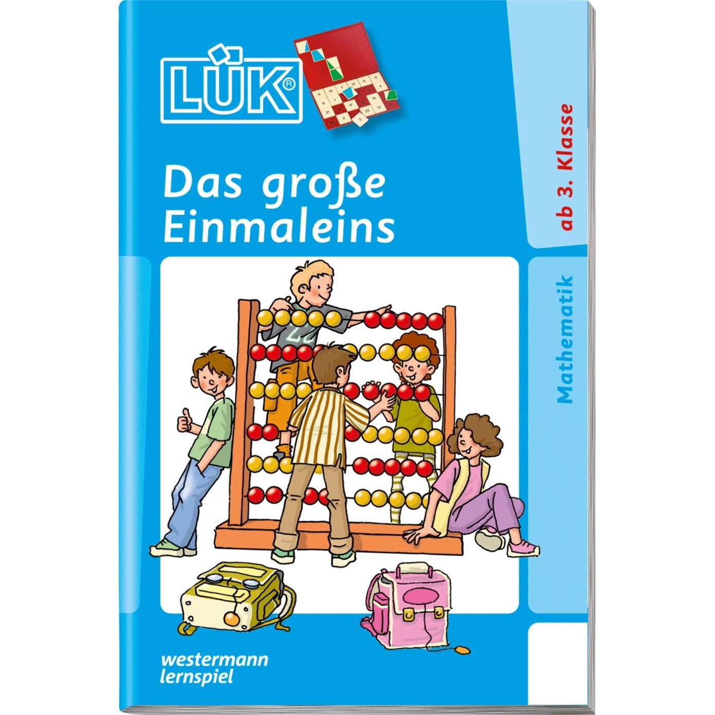 Das große Einmaleins livre pour enfants, Manuel