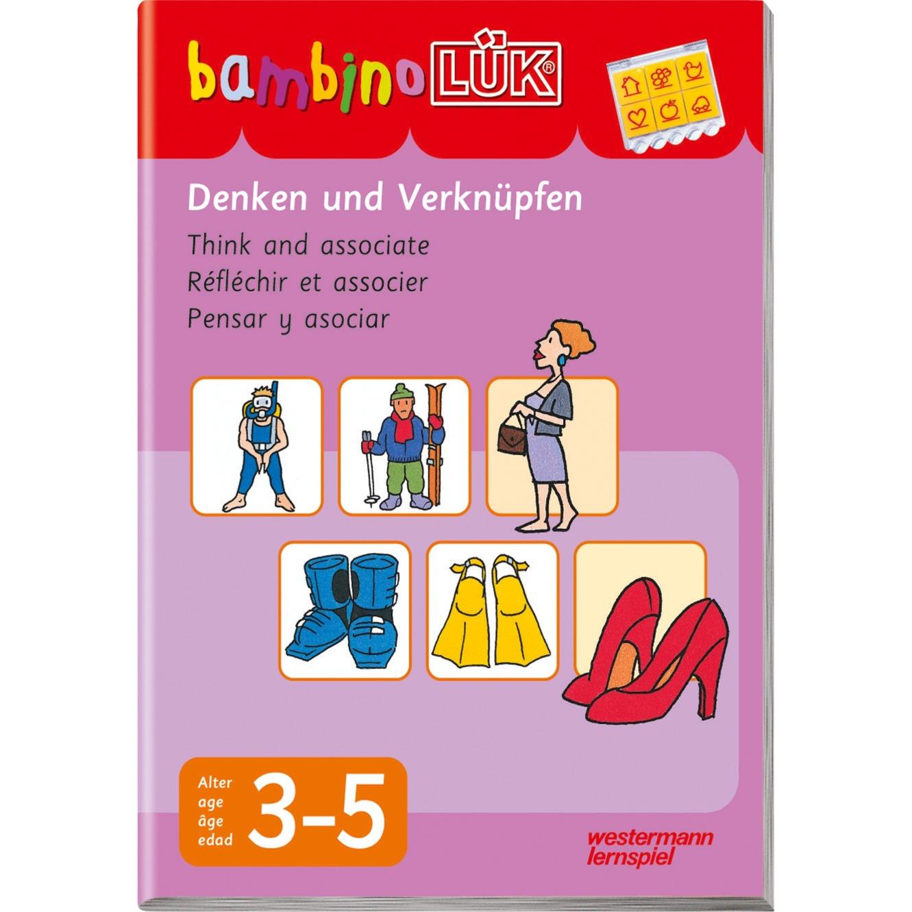 Denken und Verknüpfen livre pour enfants, Manuel