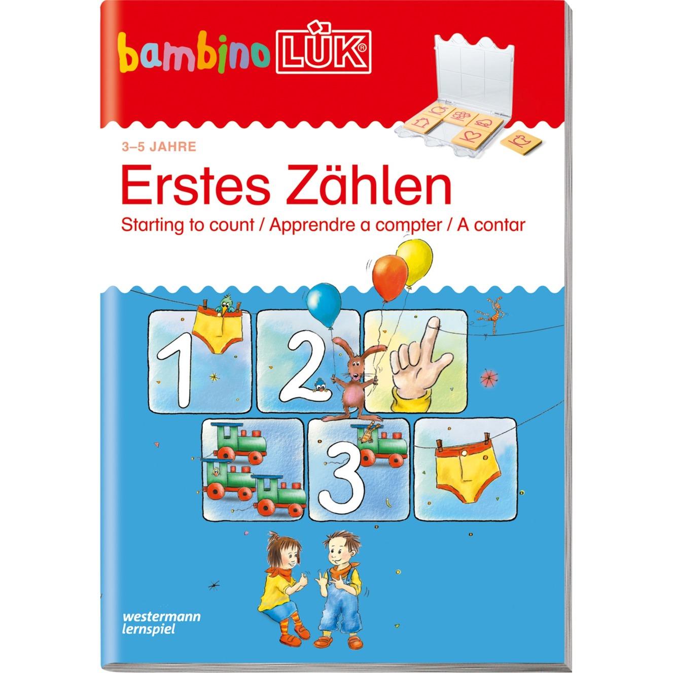 Erstes Zählen livre pour enfants, Manuel