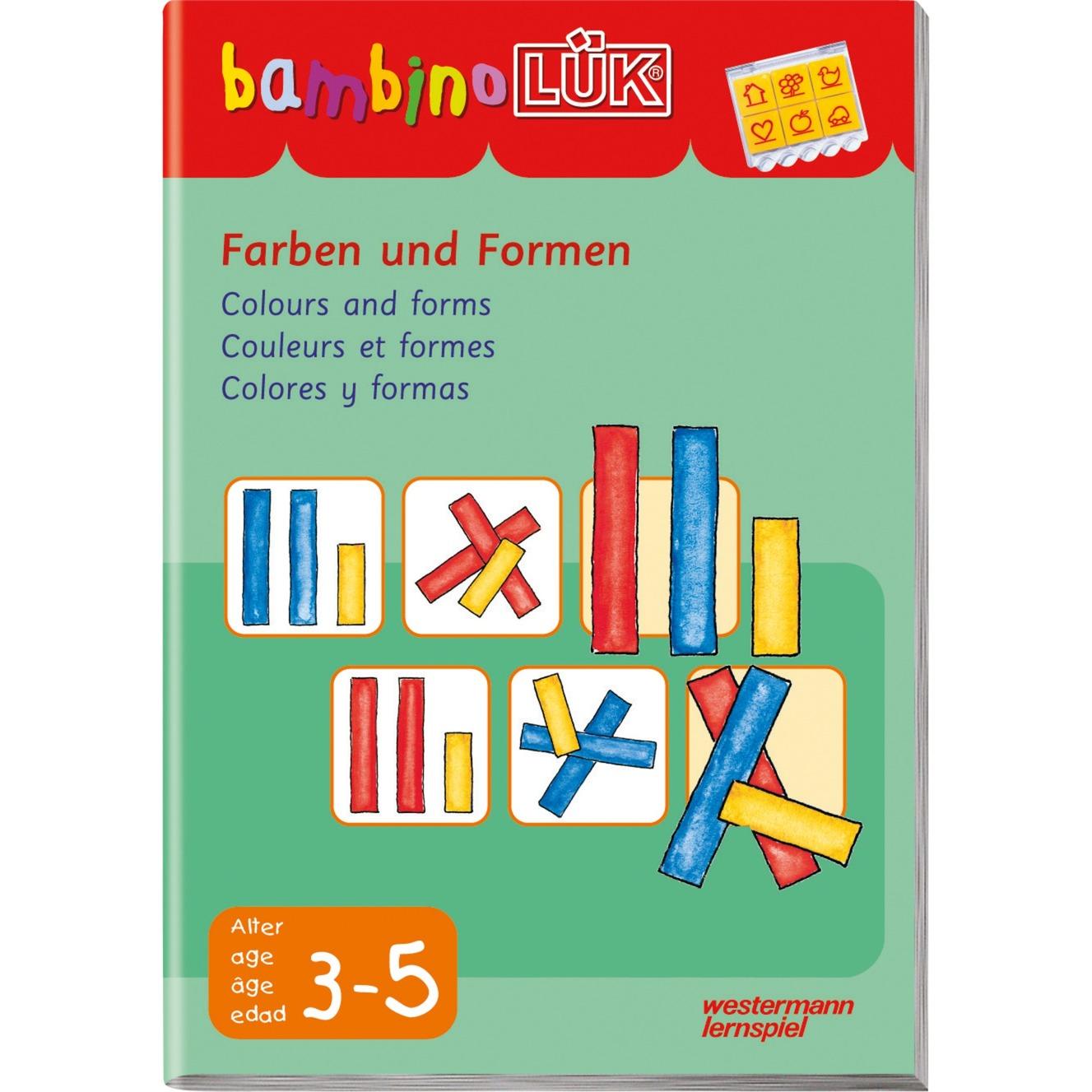 Farben und Formen livre pour enfants, Manuel