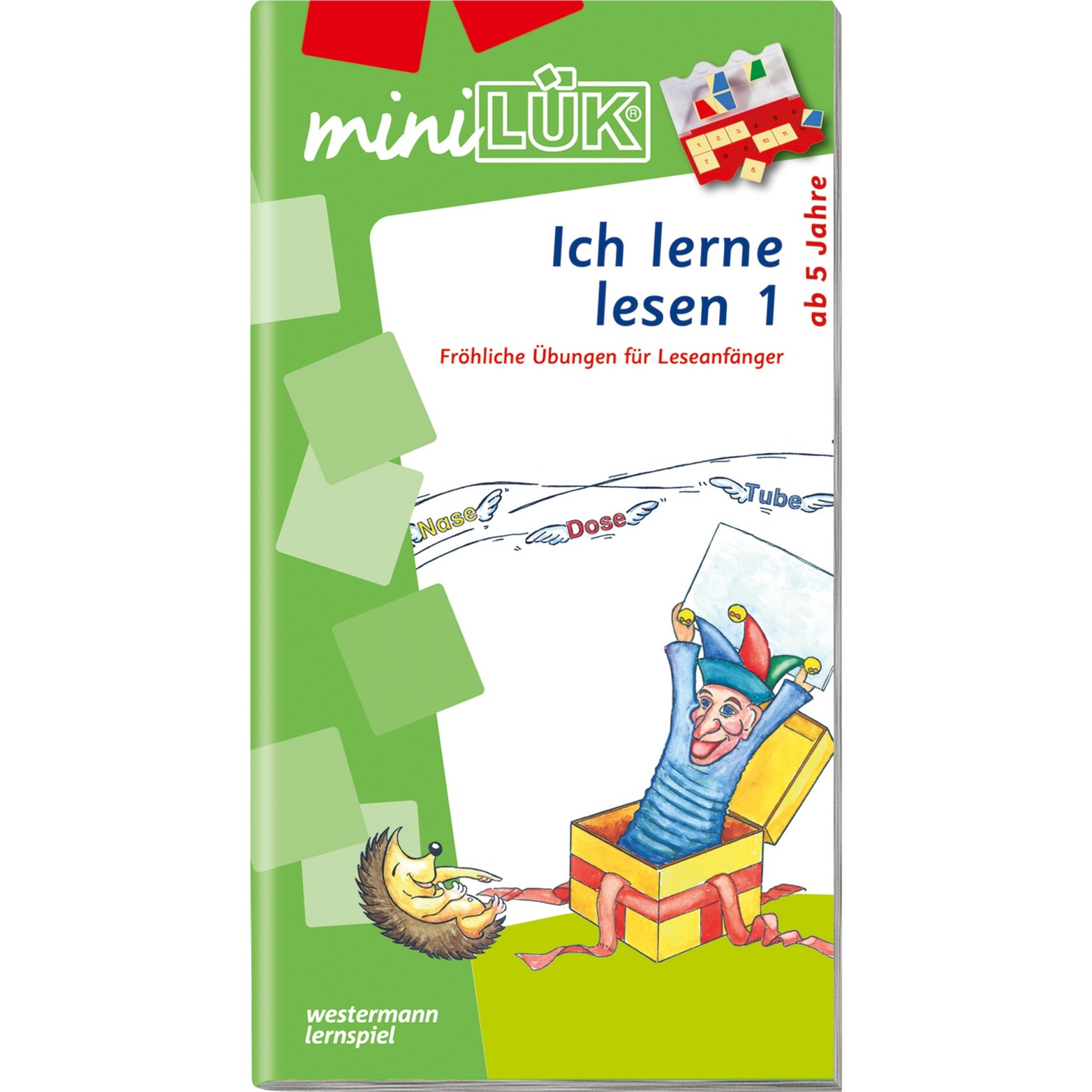 Ich lerne lesen 1 livre pour enfants, Manuel