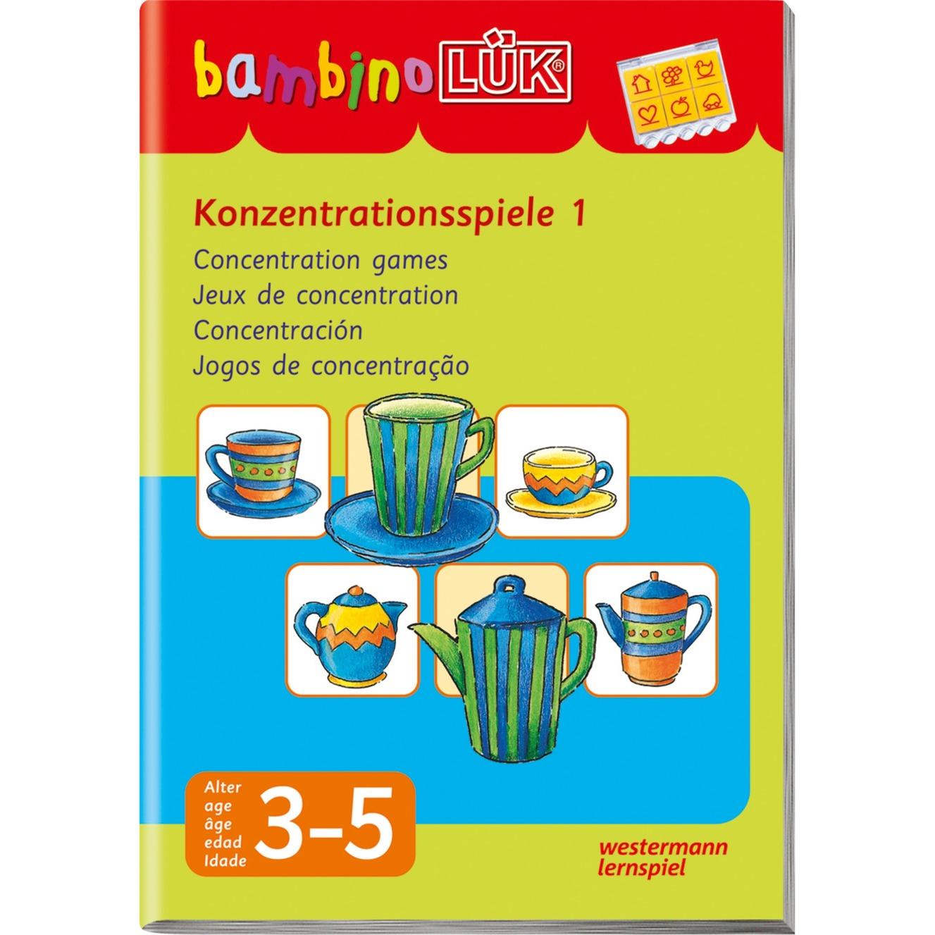 Konzentrationsspiele 1 livre pour enfants, Manuel