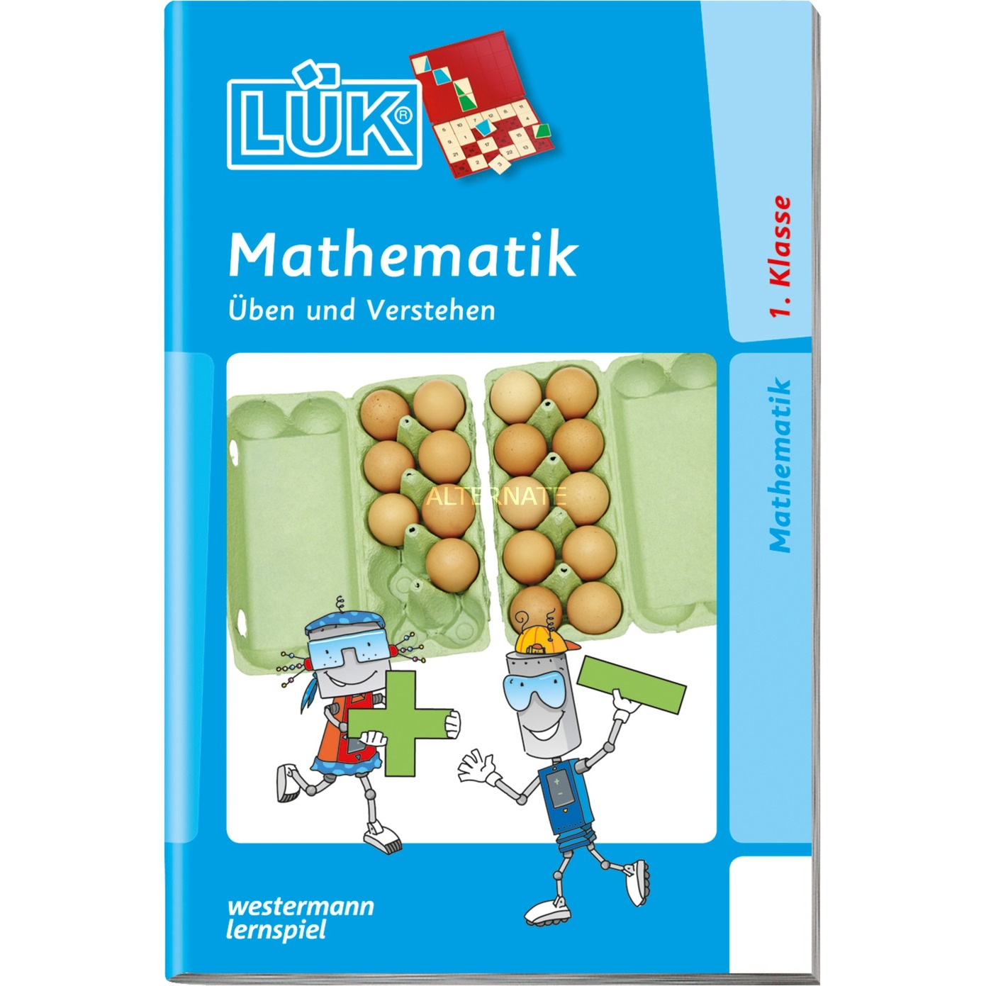 Mathematik 1. Klasse Üben und Verstehen livre pour enfants, Manuel