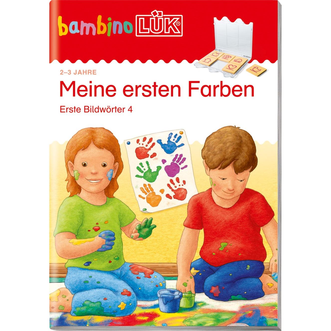 Meine ersten Farben livre pour enfants, Manuel