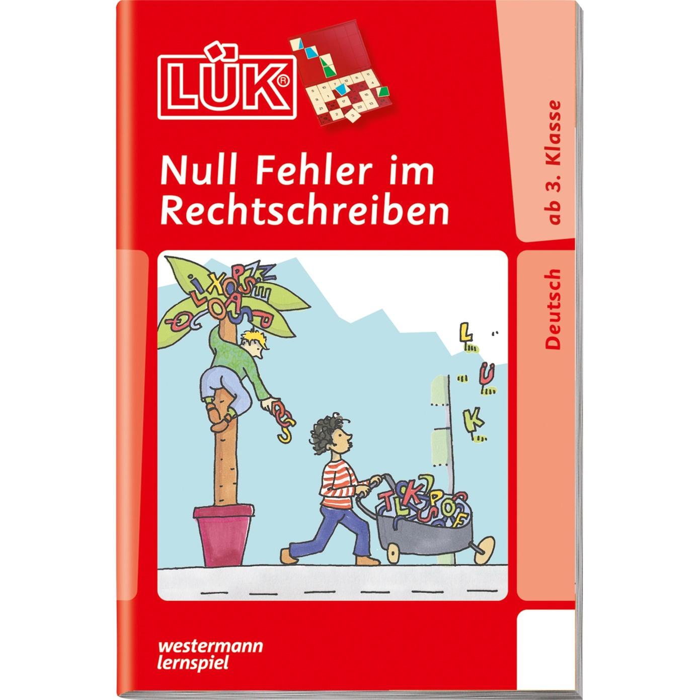 Null Fehler im Rechtschreiben livre pour enfants, Manuel