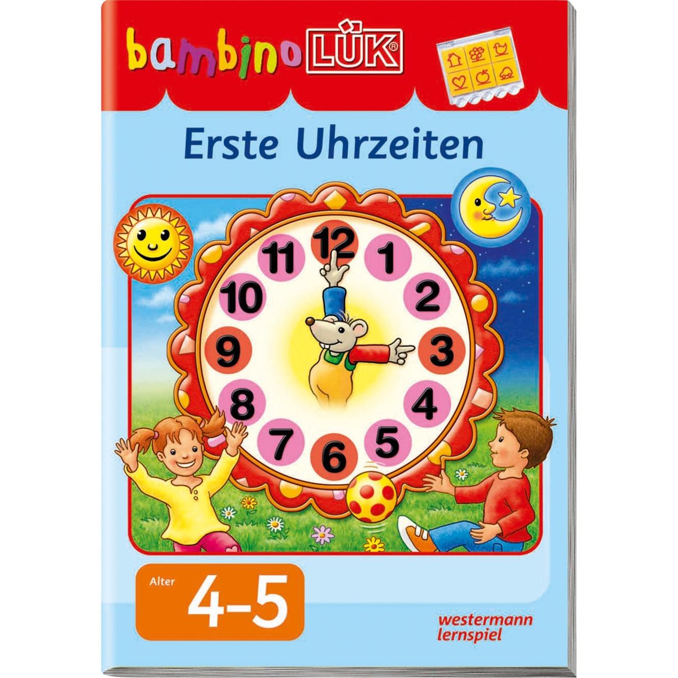 bambinoLÜK Erste Uhrzeiten livre pour enfants, Manuel