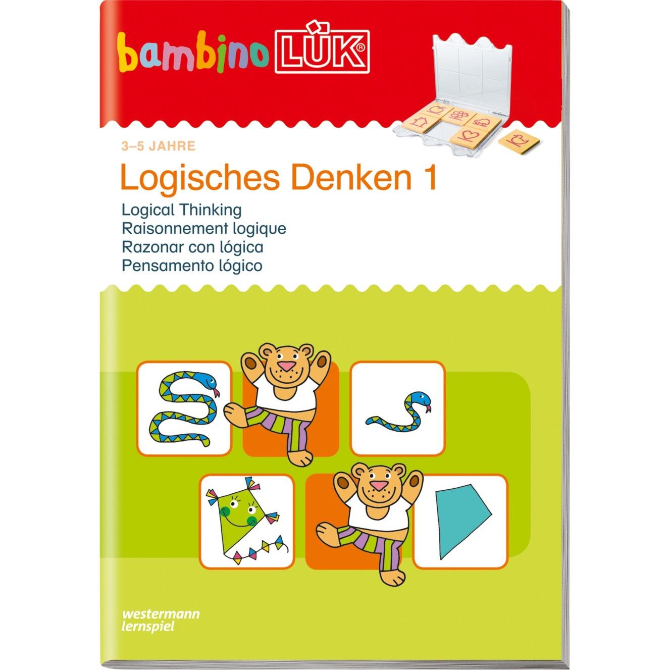bambinoLÜK Logisches Denken 1 livre pour enfants, Manuel