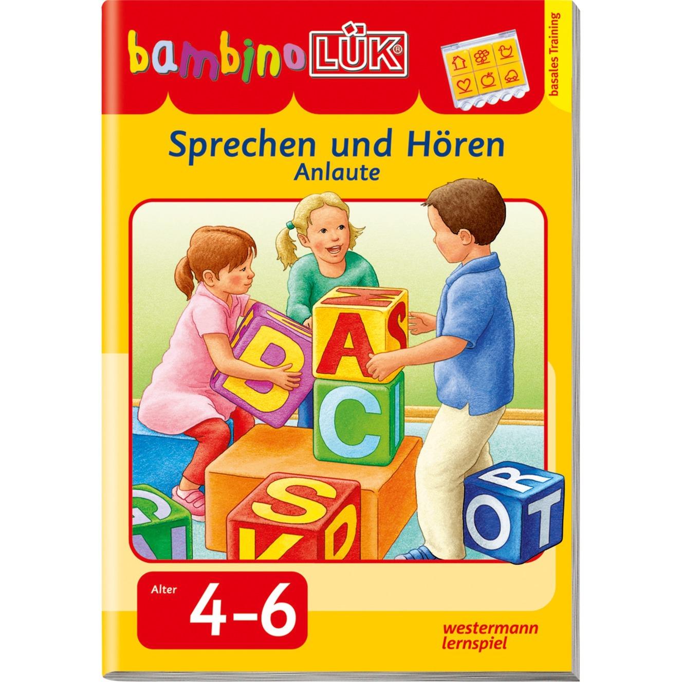 bambinoLÜK Sprechen und HörenSprechen und Hören - Anlaute livre pour enfants, Manuel