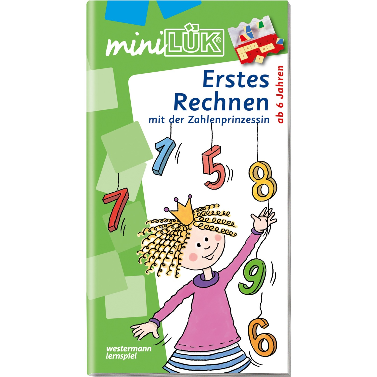 miniLÜK Die Rechenprinzessin livre pour enfants, Manuel