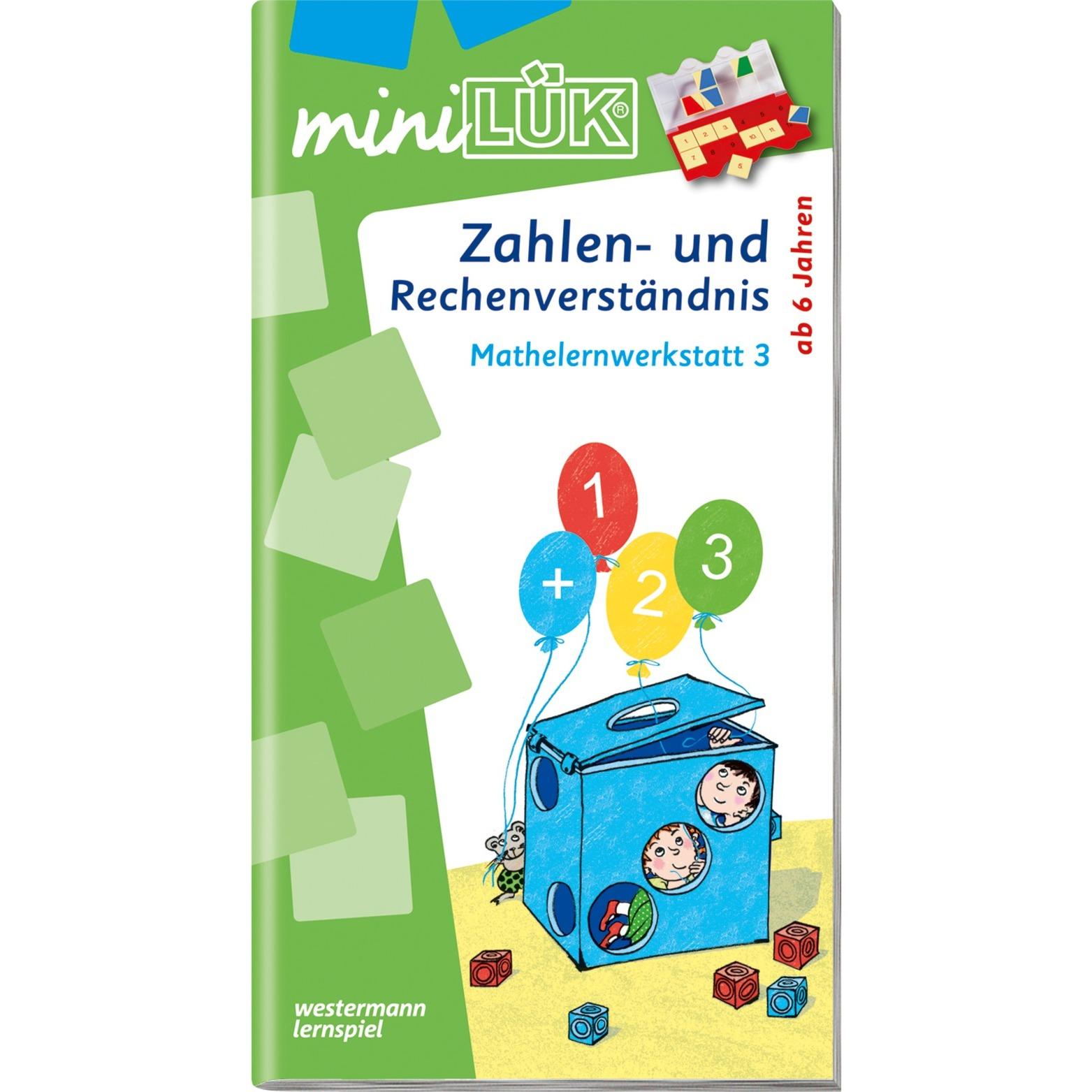 miniLÜK Zahlen- und Rechenverständnis Mathelernwerkstatt 3 livre pour enfants, Manuel
