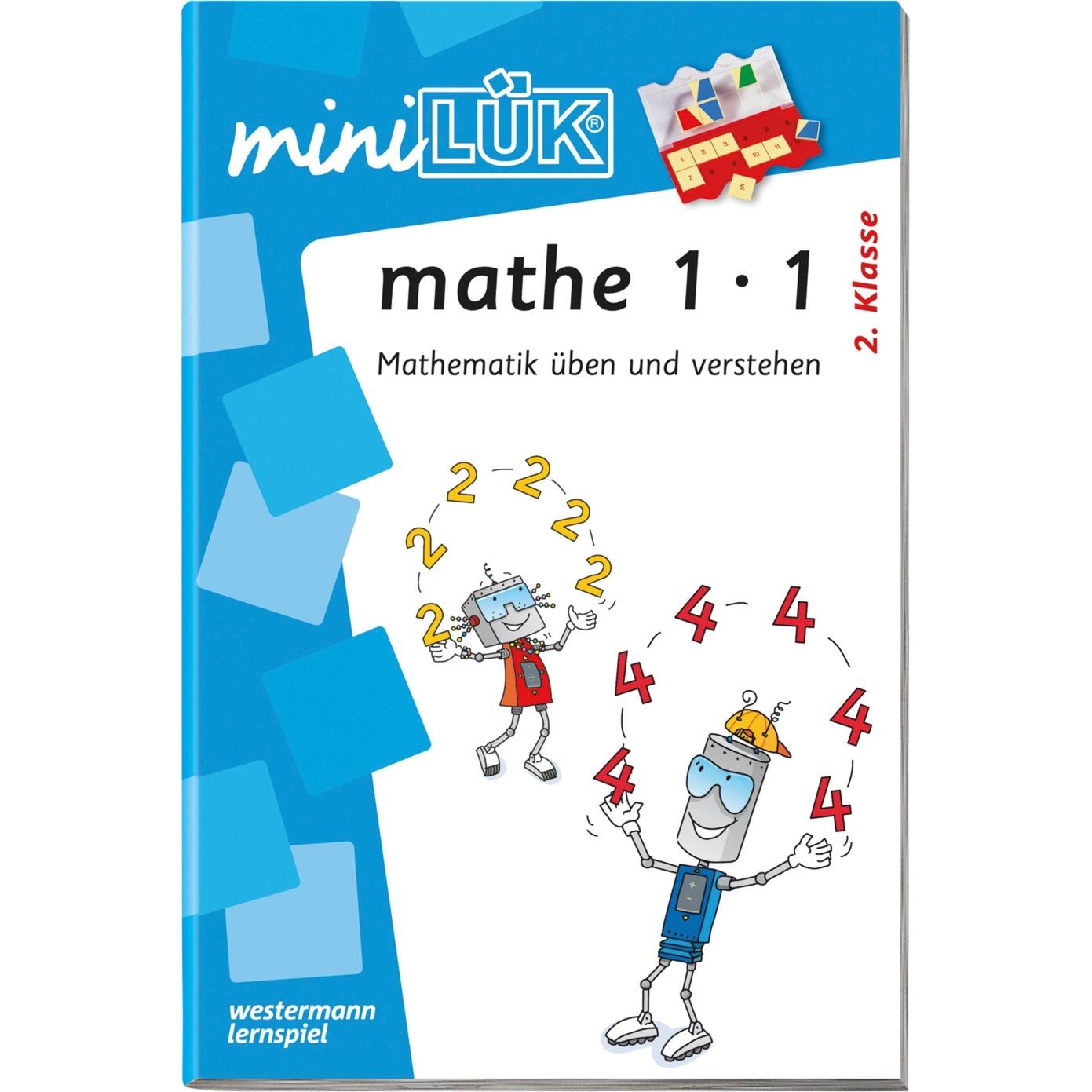 miniLÜK mathe 1x1 Mathematik üben und verstehen ab 2. Klasse livre pour enfants, Manuel