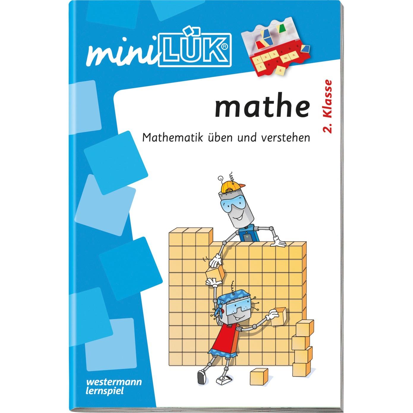 miniLÜK mathe 2.Klasse Mathematik üben und verstehen livre pour enfants, Manuel