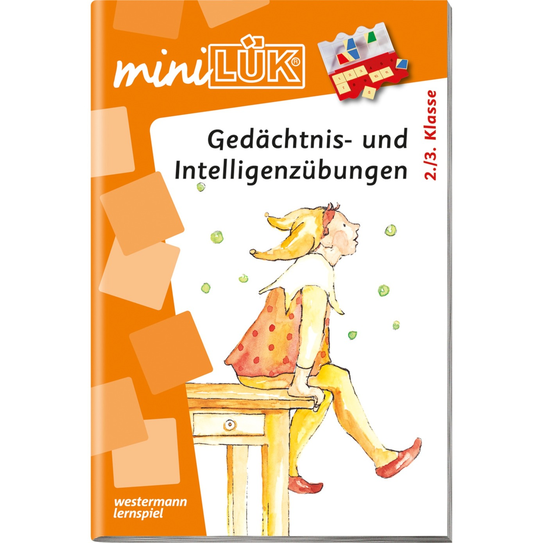 mini Gedächtnis- und Intelligenzübungen livre pour enfants, Manuel