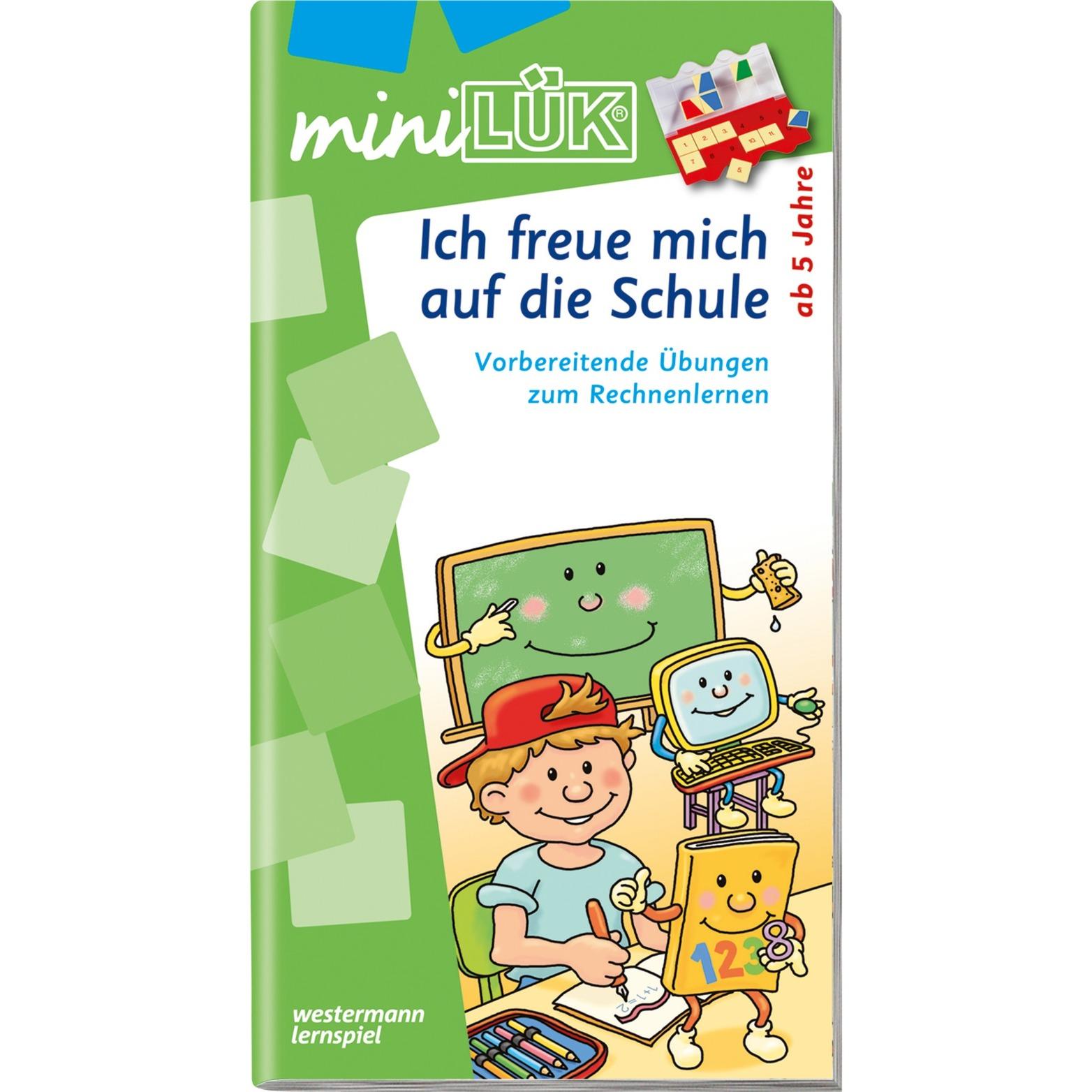 mini Ich freue mich auf die Schule livre pour enfants, Manuel
