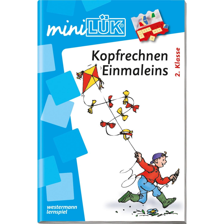 mini Kopfrechnen Einmaleins livre pour enfants, Manuel