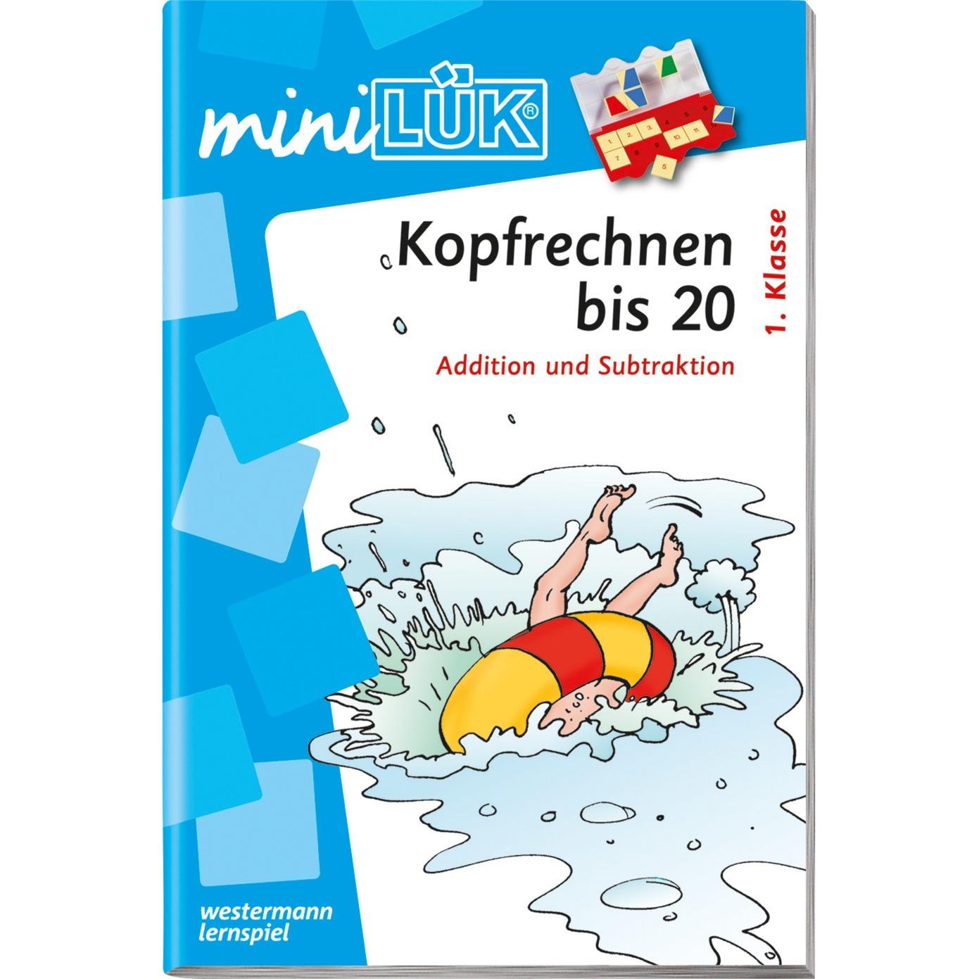 mini Kopfrechnen bis 20 livre pour enfants, Manuel