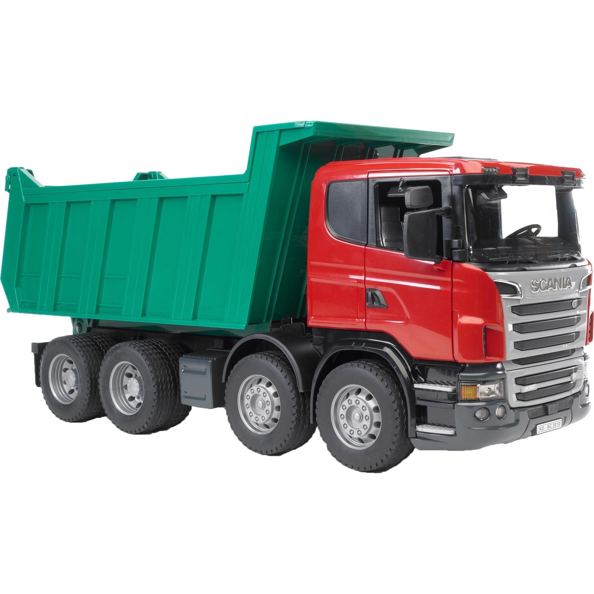 Véhicule Miniature - Camion Benne Scania, Modèle réduit de voiture