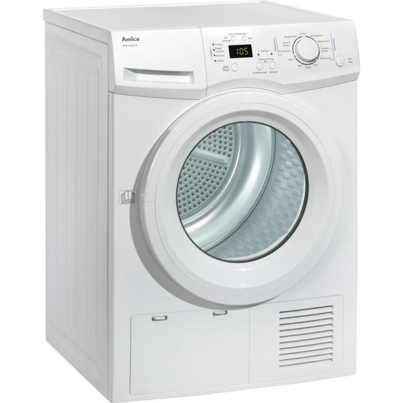 WTP 14322 W Autonome Charge avant 8kg A++ Blanc sèche-linge, Sèche-linge pompe à chaleur à condensation