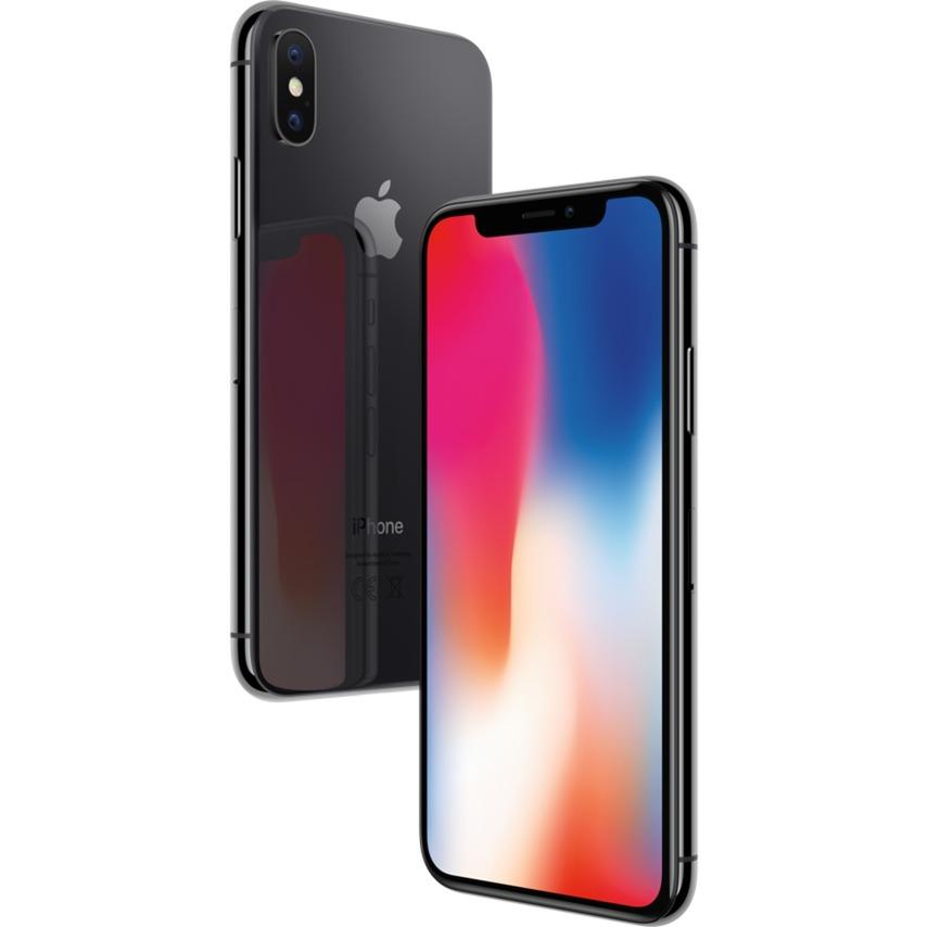 iPhone X SIM unique 4G 64Go Gris, Mobile