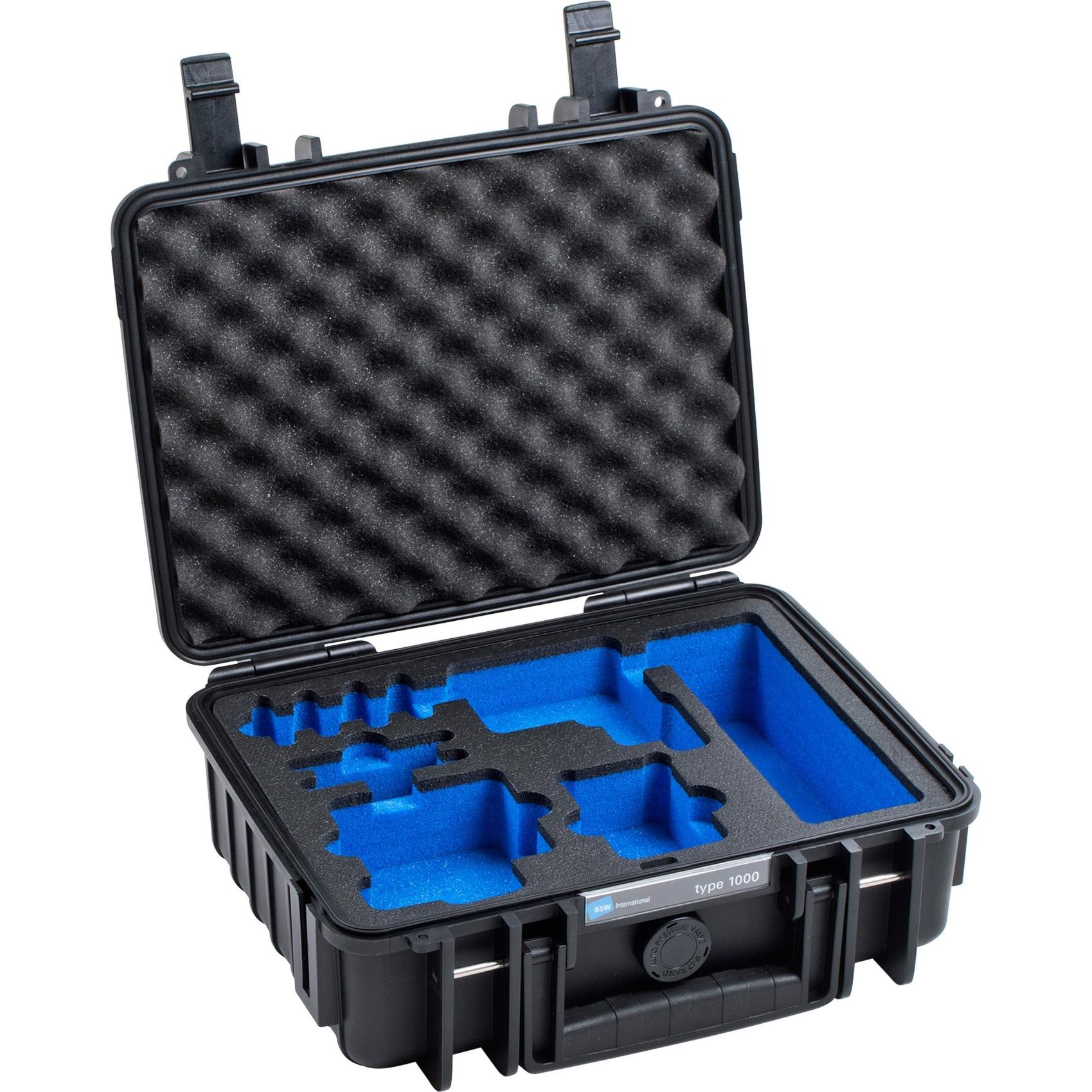 1000/B/GOPRO5 Boîtier rigide Noir étui et housse d'appareils photo, Valise