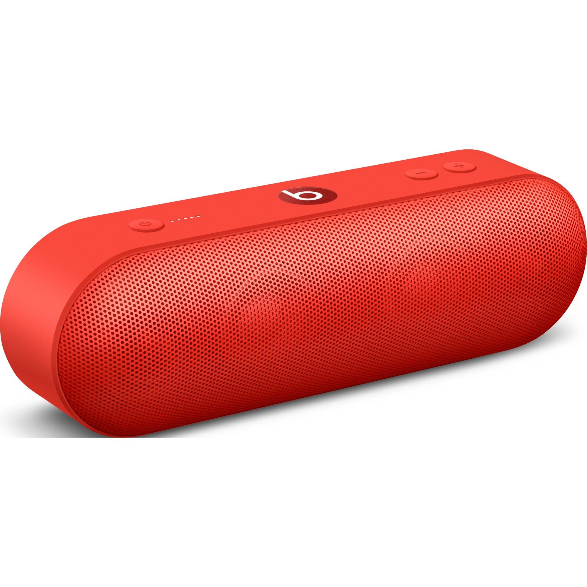 Beats Pill+ Enceinte portable stéréo Rouge, Haut-parleur