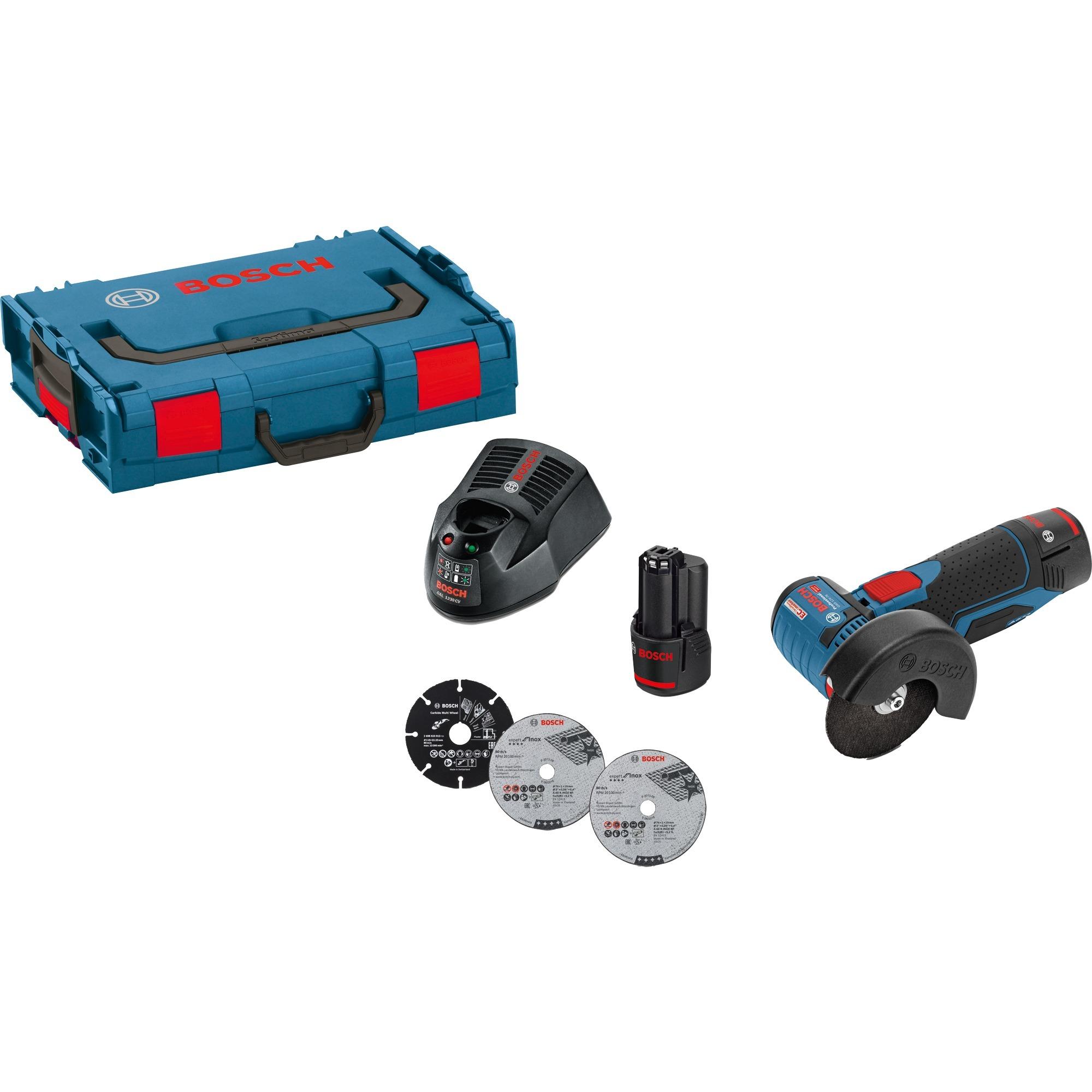 0b104a79bfc036 Bosch 06019F200B, Meuleuse d angle bleu Noir