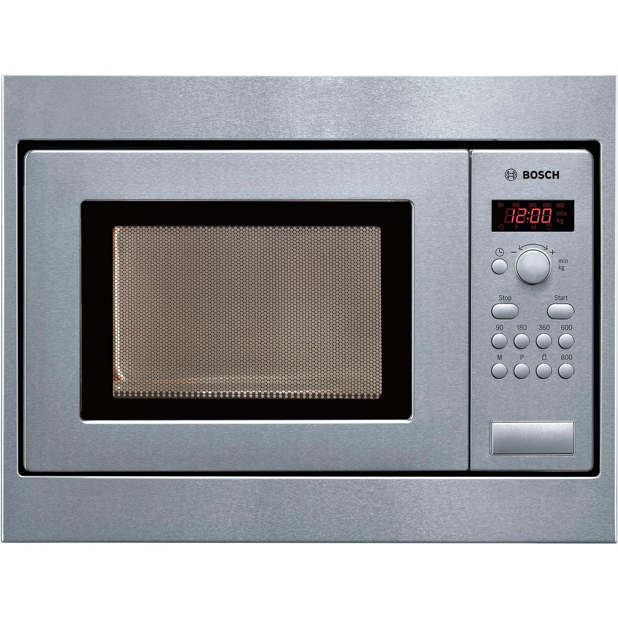 HMT75M551 17L 800W Argent micro-onde, Four à micro-ondes