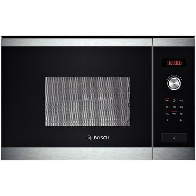 HMT75M654 Intégré 20L 800W Noir, Acier inoxydable micro-onde, Four à micro-ondes