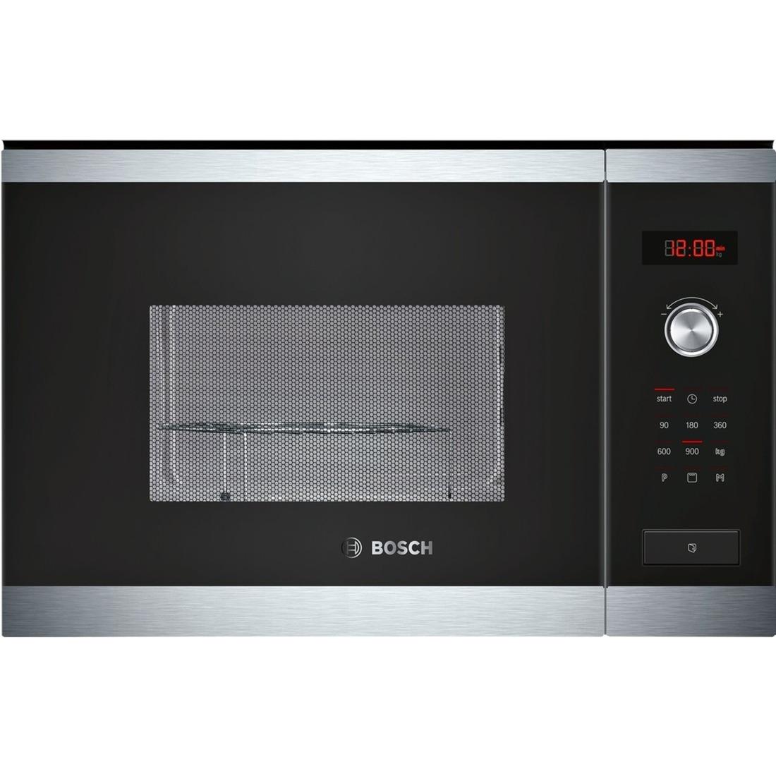 HMT84G654 Intégré 25L 900W Noir, Acier inoxydable micro-onde, Four à micro-ondes