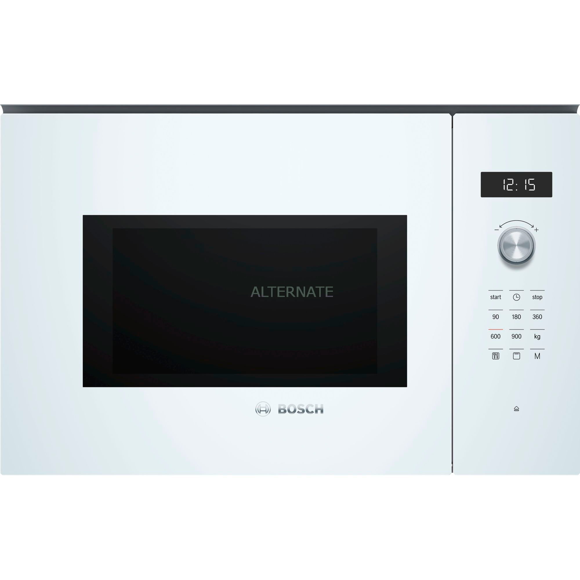 Serie 6 BEL554MW0 Intégré Micro-ondes grill 25L 900W Blanc micro-onde, Four à micro-ondes