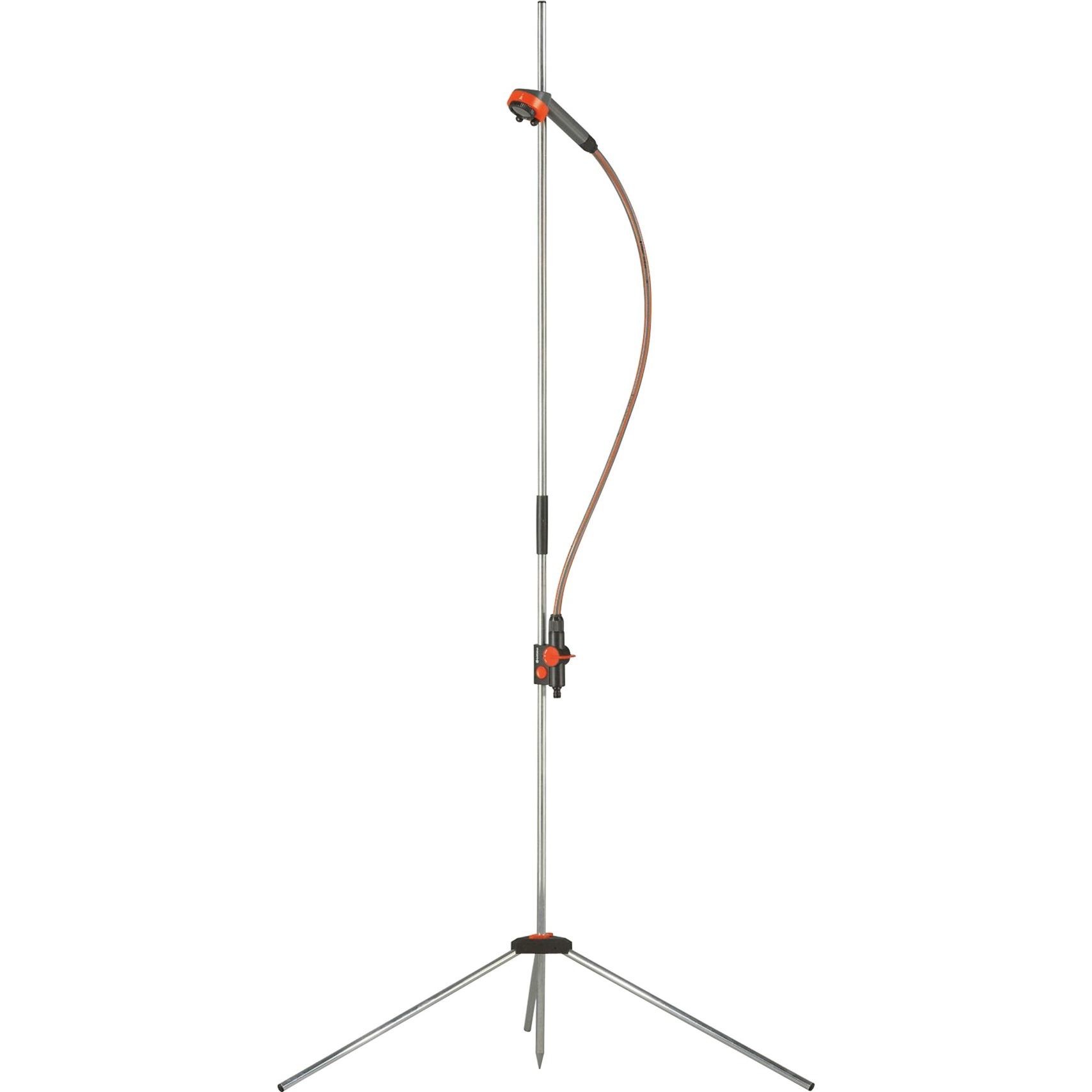00960-20 1head(s) Noir, Argent système de douche, Douche extérieure