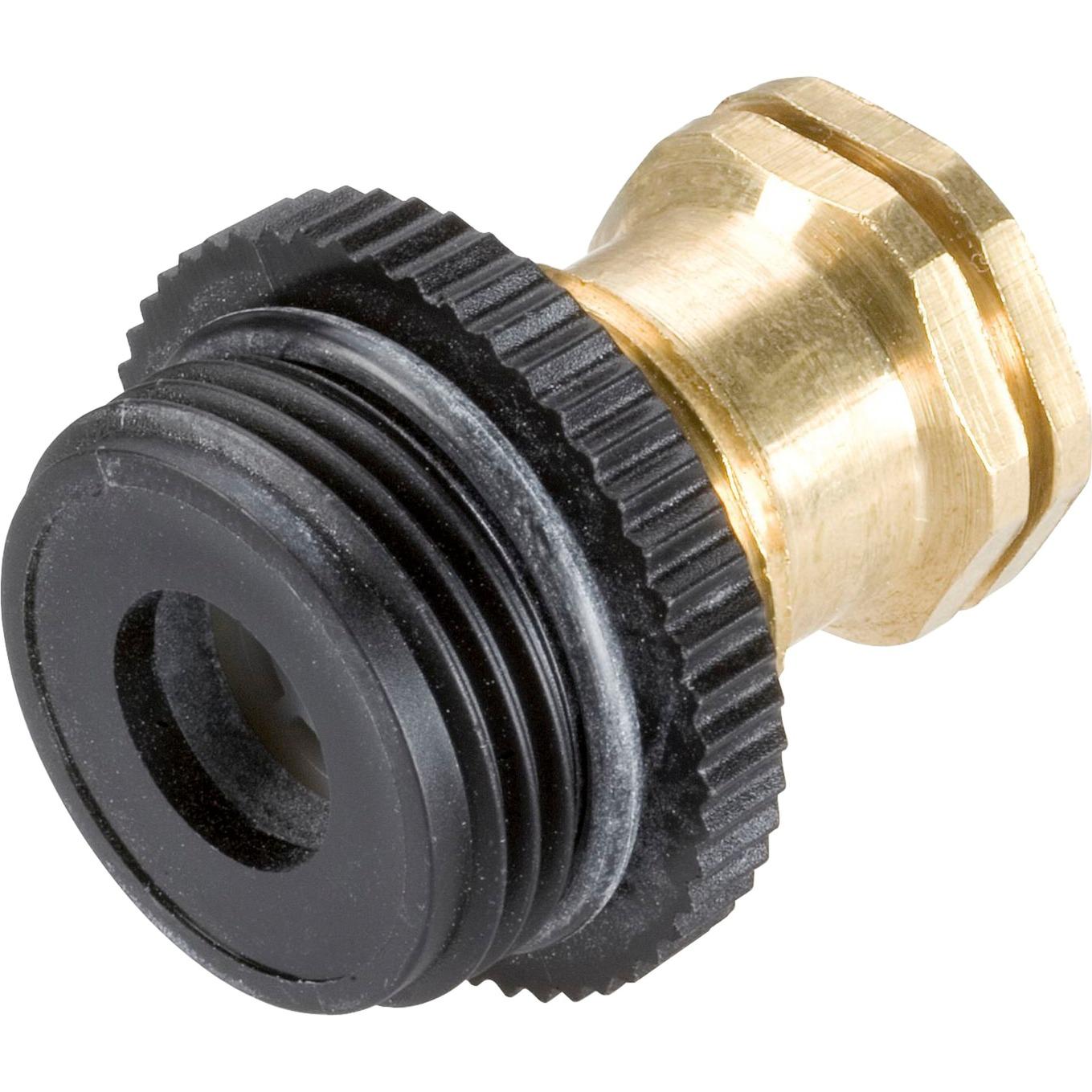 02760-20 Noir, Métallique raccord des tuyaux d'eau, Systèmes de gicleurs