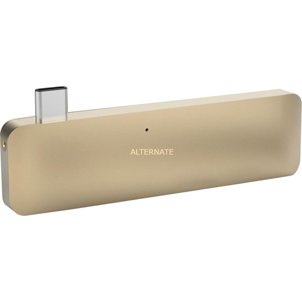HyperDrive USB 3.1 (3.1 Gen 2) Type-C Or hub & concentrateur, Station d'accueil