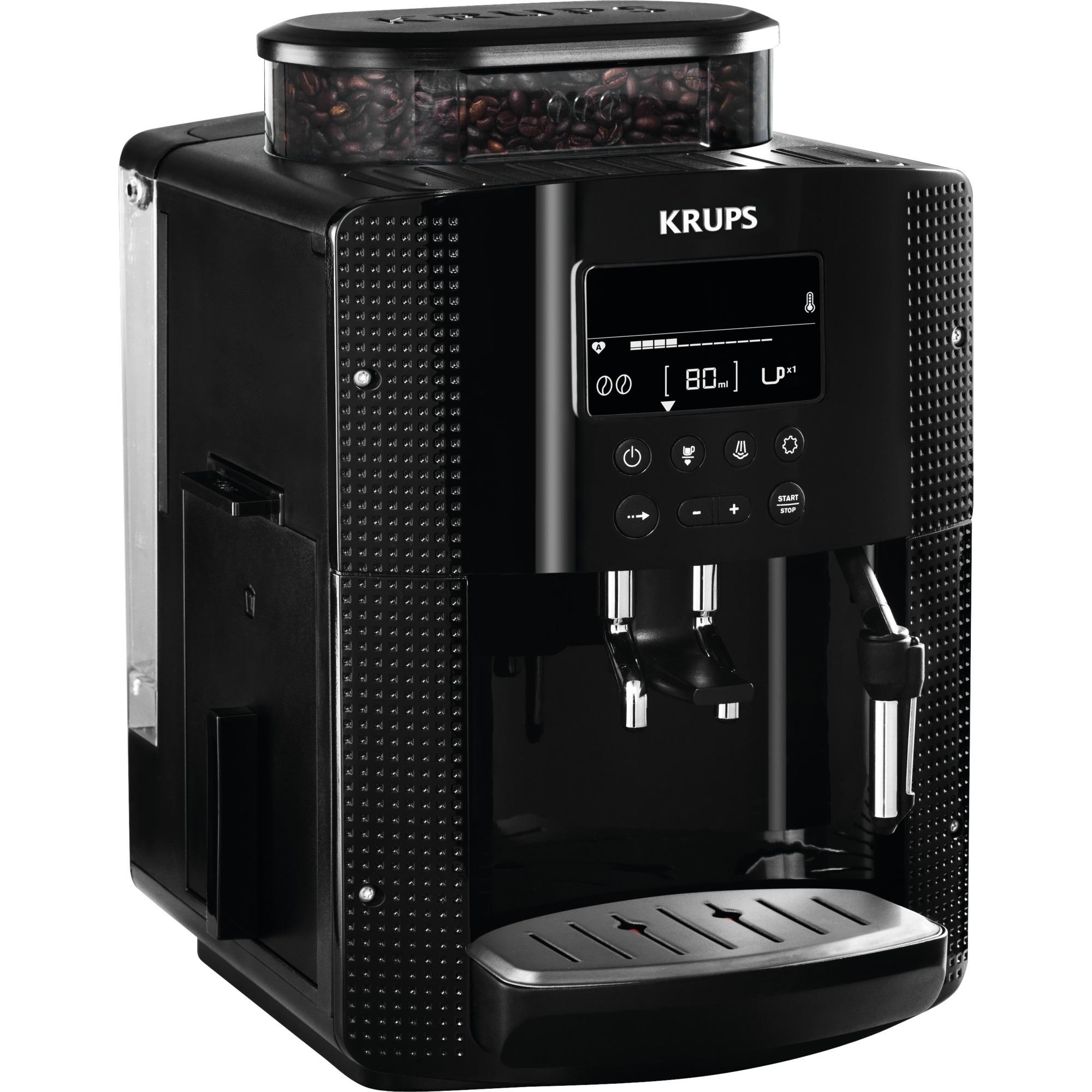 EA8150 Autonome Entièrement automatique Machine à expresso 1.7L 2tasses Noir machine à café, Machine à café/Espresso
