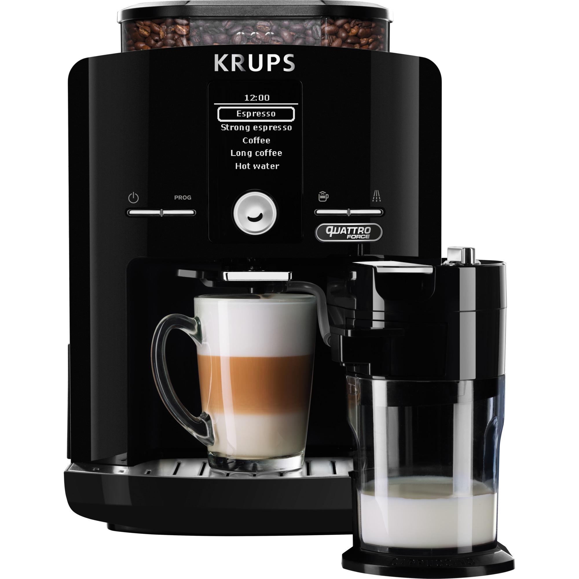 EA82F8 Autonome Entièrement automatique Machine à expresso 1.7L 9tasses Noir machine à café, Machine à café/Espresso
