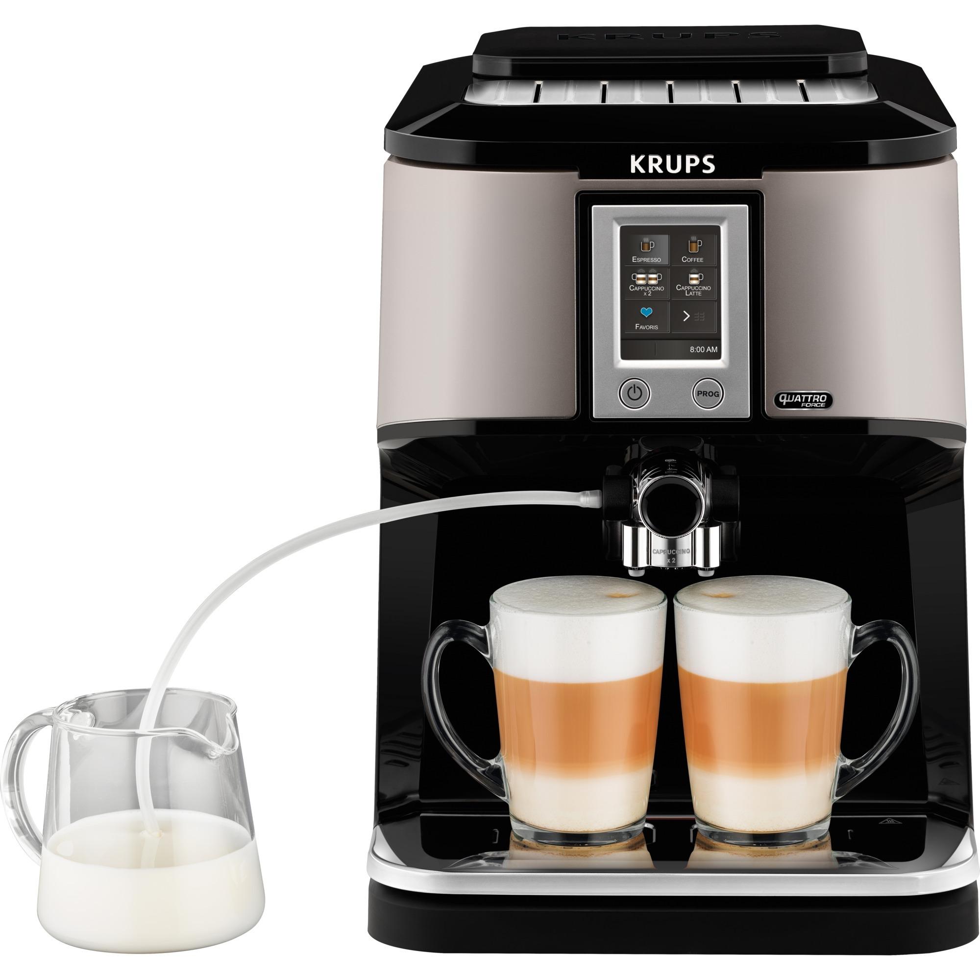 EA880E Autonome Entièrement automatique Machine à expresso 1.7L 12tasses Argent machine à café, Machine à café/Espresso