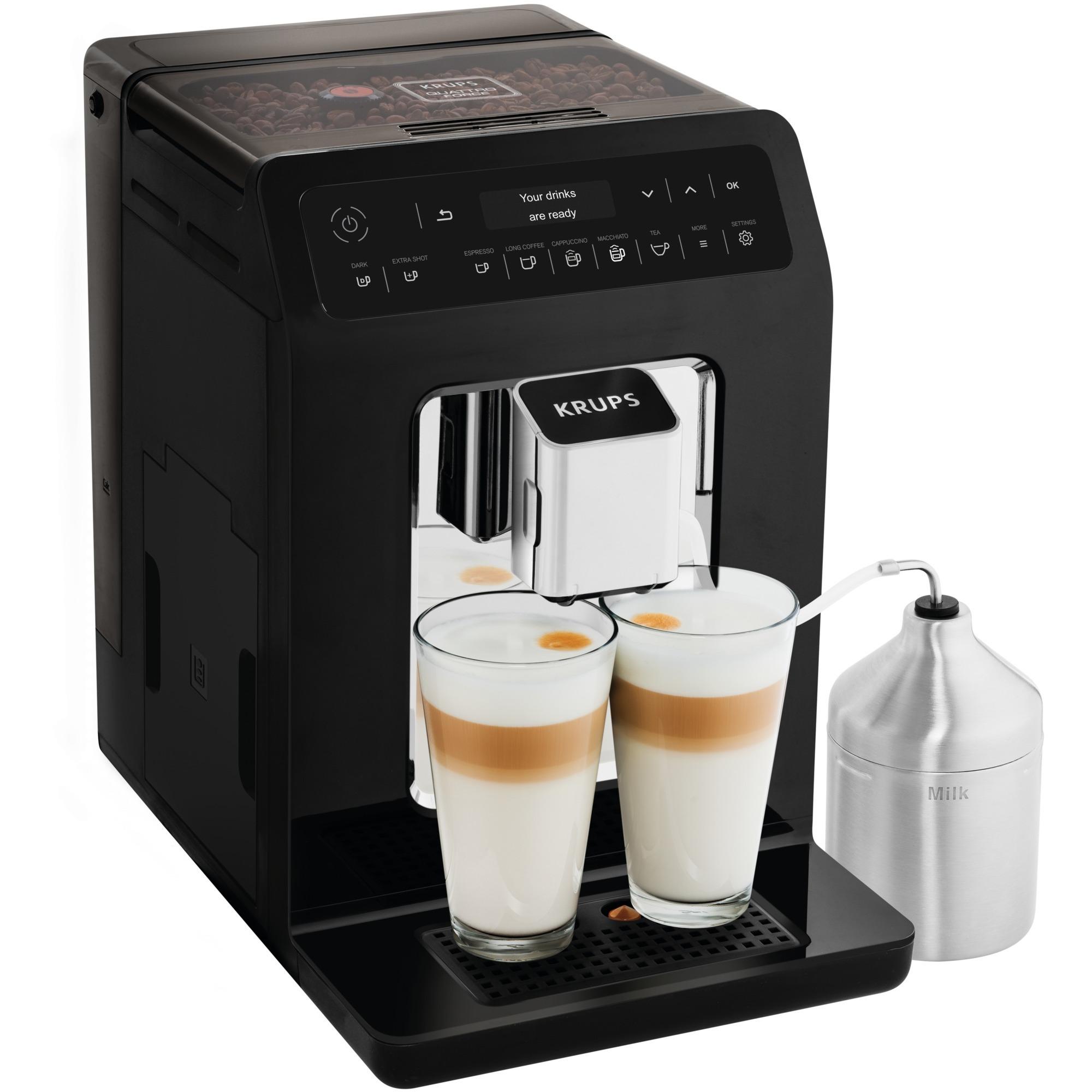 Evidence EA8918 Autonome Entièrement automatique Machine à expresso 2.3L 2tasses Noir machine à café, Machine à café/Espresso