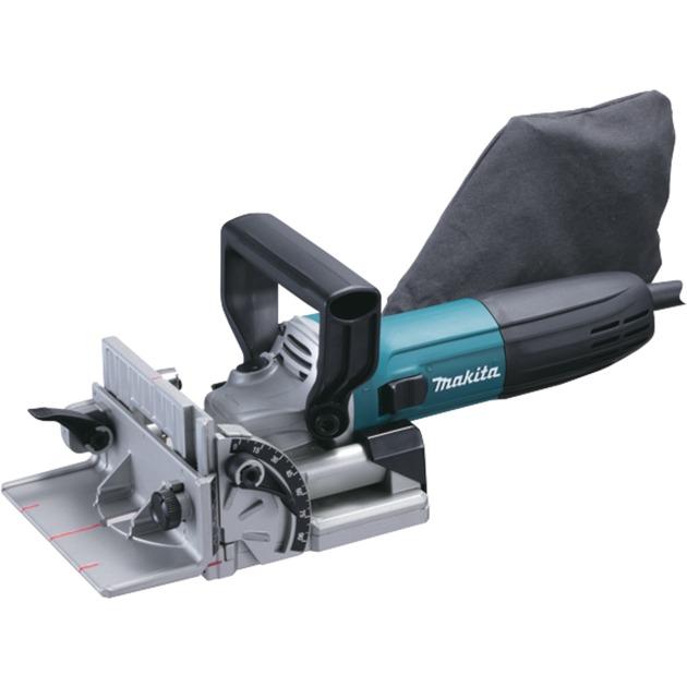 PJ7000J 0 - 11000tr/min 700W Noir, Bleu routeur d'alimentation, Fraiseuse de rainure