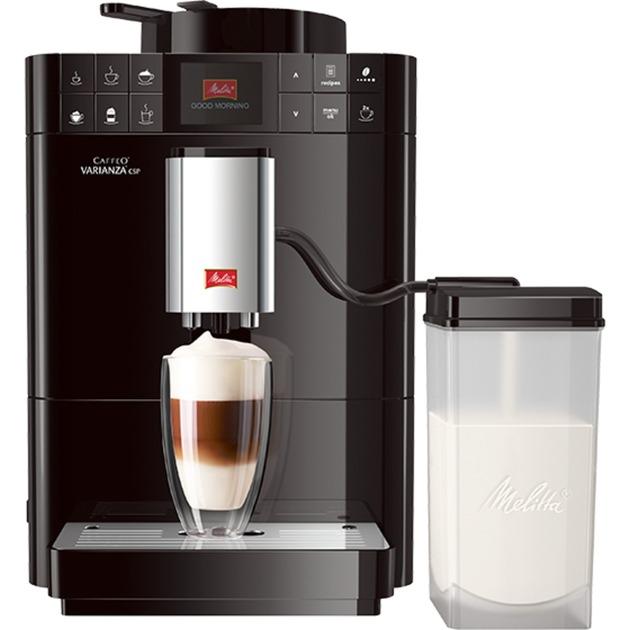 Varianza CSP machines à expresso automatiques Noir F570-102, Machine à café/Espresso