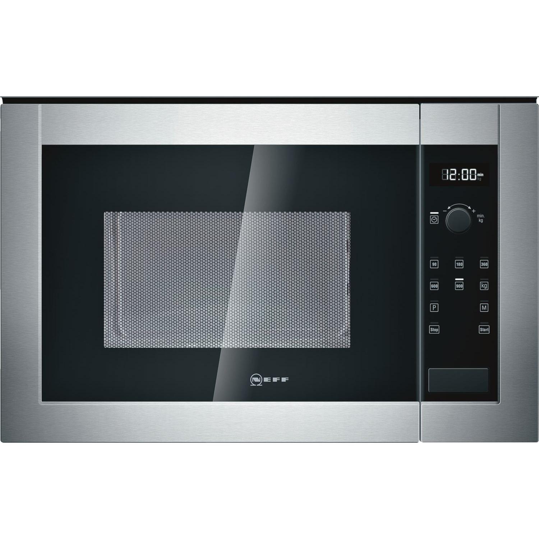 H12WE60N0 Intégré 25L 900W Noir, Acier inoxydable micro-onde, Four à micro-ondes