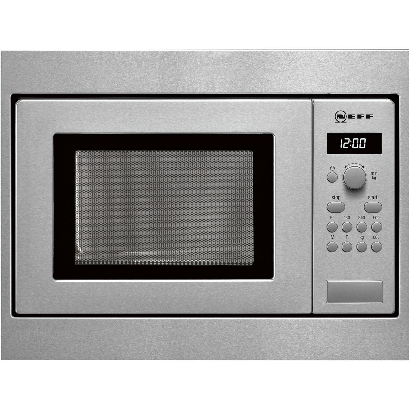 HW 5350 N Intégré 17L 800W Acier inoxydable, Four à micro-ondes