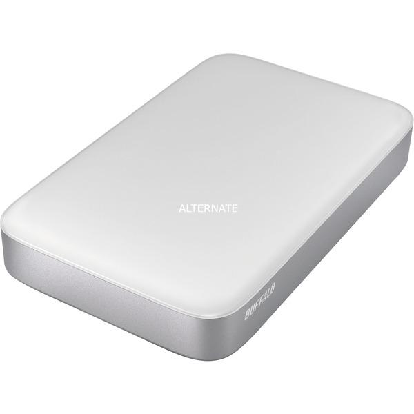 MiniStation Thunderbolt 1.0TB 1000Go Argent, Blanc disque dur externe